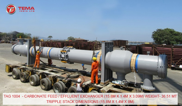 Carbonate-Feed-Effluent-Exchanger